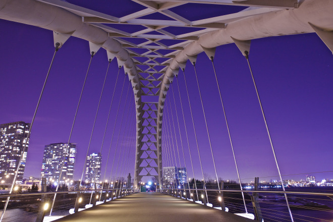 Humber Bridge Toronto Night